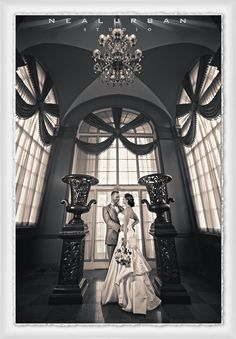 Bride & Groom at the Statler - Buffalo Wedding Photographer & Destination Photography