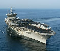 uss enterprise - I've landed on and catapulted off of this amazing ship, the worlds first nuclear powered carrier
