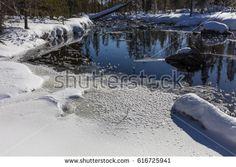 Lapland, Finland. Springtime in Lapland
