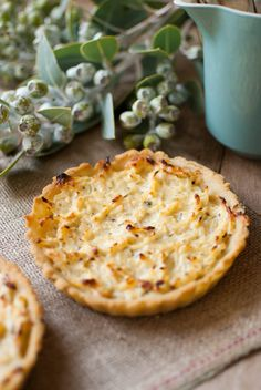 Autumn flavours - Potato and Rutabaga Tarts