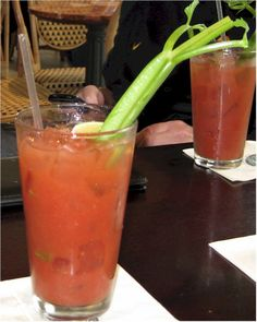 The Bloody Mary.  The perfect one, pictured here, can be purchased at The Cliff House in San Francisco.