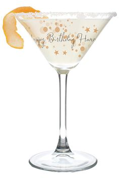 Gold Bubbles Cocktail Glass Perfect for cocktails or mocktails! Comes in a silver folding gift box. Hand wash only. x x Personalise glass with a line up to 50 characters. Do not use all block capitals.