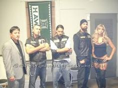 Coolest Sons of Anarchy Group Costume  sc 1 st  Pinterest & 173 best Sons of Anarchy Halloween images on Pinterest | Halloween ...