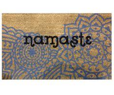 Namaste Vinyl Backed Doormat