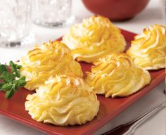 Looking for a delicious party side dish? Try our Duchess Potatoes recipe today for everyone to enjoy. Made using Daisy Sour Cream. Potato Dishes, Potato Recipes, Duchess Potatoes, Daisy Sour Cream, Party Side Dishes, Good Food, Yummy Food, Delicious Recipes, Xmas Dinner