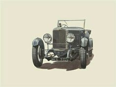 Car Illustration, Illustrations, Motorcycle, Cars, Vehicles, Vintage, Drawings Of Cars, Illustration, Autos