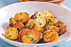 Paprika-baked Chat Potato With Roasted Garlic Aioli Recipe - Taste.com.au