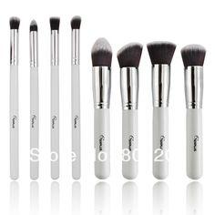 701116a3bf5 Sixplus 8 pcs White Professional Makeup Brushes Eye Brushes