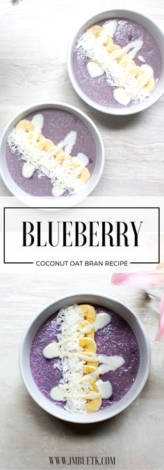 Blueberry Coconut Oat bran - Vibrant & full of healthy good for you fats, this is the perfect start to a perfect day.  . . . . .#healthy, #breakfast,