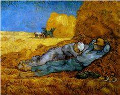 Rest Work (After Millet), by Van Gogh