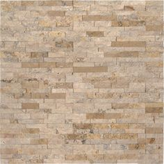 MSI Roman Beige x Rectangle Wall Tile - Splitface Visual - Sold by Carton SF/Carton) Wall And Floor Tiles, Wall Tiles, Stacked Stone Panels, Austin Stone, Stone Accent Walls, Travertine Floors, Cream Walls, Stone Kitchen, Thing 1