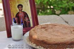Saint Fanourios Cake - Recipe for Fanouropita