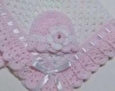 Mano de ganchillo abuela cuadrados ganchillo bebé manta