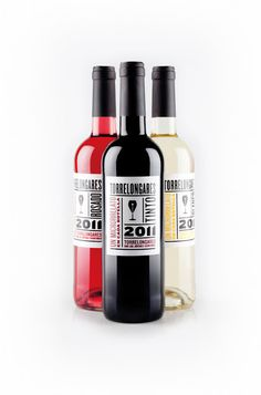 Looks a lot like Hat trick! Vino-Joven-Torrelongares-wine-packaging