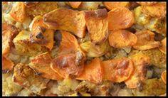Ovenschotel met kabeljauw, bloemkool&zoete aardappel.Rens Kroes. Gemaakt