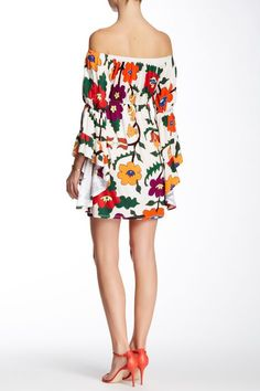 Kenzie Off-The-Shoulder Bell Sleeve Dress by VOOM By Joy Han on @HauteLook