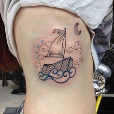 tattoo friday tatuagem dani bianco barco