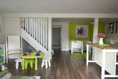 A basement reno fit for a daycare! From season 5 of Income Property on HGTV