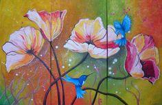 Comprar MINDO II (tríptico) - Pintura de Mauro Eliseo Carrión Novoa por 12.192,00 ARS (2015/03/21) en Artelista.com, con gastos de envío y devolución gratuitos a todo el mundo