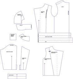 Выкройка детской куртки-косухи — Шкатулка