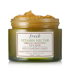 Fresh - VITAMIN NECTAR VIBRANCY-BOOSTING FACE MASK - Fresh