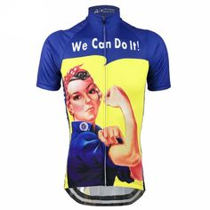 Women's Rosie the Riveter Cycling Jersey