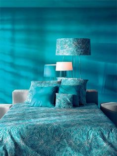 Turquoise   Teal   home decor, bedroom