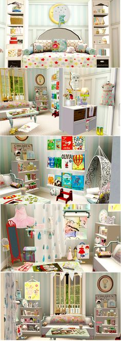 Some pics from a challenge at BPS. The theme was 'creative playroom' from lpvinyl21  http://lpvinyl21.tumblr.com/tagged/my%20decor  #sims3 #sims3decor #sims3roomideas #sims3kids #sims3playroom