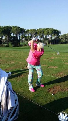 Golf Tips - At the top of your backswing your cigarette should point directly down at the ball....LOL