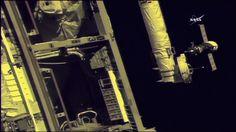 oyuz MS-06 spacecraft carrying NASA astronauts Mark Vande Hei, Joe Acaba and Alexander Misurkin of Roscosmos