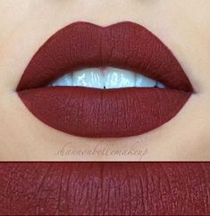 Unicorn Blood by Jefree Star courtesy of Shannon Belle Makeup! The PERFECT fall red