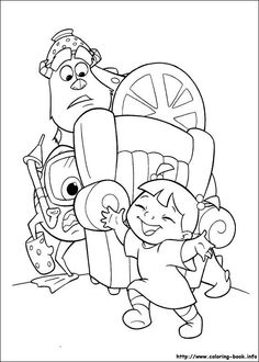 monsters inc coloring pages sully httpeast colorcom