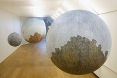 "Russell Crotty, ""Globe drawings"" (2007)"