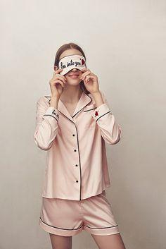 アンフィ×イラストレーターShogo Sekineのルームウェア - サテンパジャマやアイマスクなど 写真8