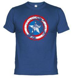 Camiseta CAPITAN AMERICA ESCUDO