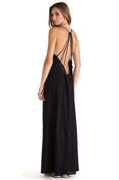fb5081e76d Issa de' mar St. Bart's Maxi Dress in Black Beach Cover Ups, Revolve