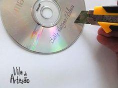 Risque pintura do CD