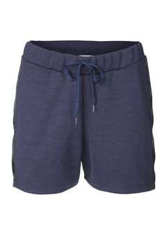 Sweatshirt material shorts.