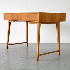 Mid Century Modern Wooden Desk 50s 60s   Schreibtisch Kirsche 50er 60er Magg Ära   eBay
