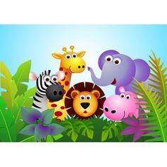 Imágenes Infantiles de Animales de la Selva (12)