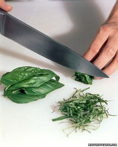 How to Slice, Dice, and Chop Vegetables and Herbs - Martha Stewart Food