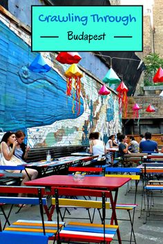 Your best evening in Budapest! Discover the Ruin Bars and enjoy the evolving food scene in the Jewish Quarter. Lively and creative - these beautiful bars can't be missed on a visit to Budapest, Hungary! Click to find out more @venturists