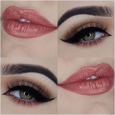 Aquela combinação pra dar aquele colorido pleno na vida! Make da @miaumauve com pêssego rente aos cílios inferiores (fofo!) e #batomfelizesparasempre ❤️ Love Makeup, Makeup Inspo, Makeup Art, Makeup Tips, Hair Makeup, Makeup Ideas, Awesome Makeup, Smoky Eye Makeup Tutorial, Gorgeous Hair Color