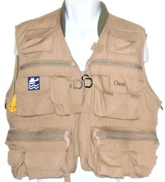 Orvis Zip Front Fly Fishing Excursion Hunting Inflatable Vest Plus More   L  #Orvis