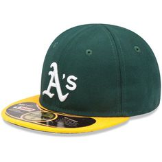 Infant New Era Green Oakland Athletics My 1st 59FIFTY Fitted Hat c1173576e623