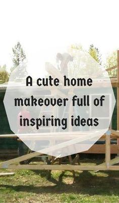 A Cute Home Makeover Full Of Inspiring Ideas http://www.hometalk.com/l/Xe2