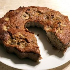 Comidas Fitness, Bolos Low Carb, Healthy Deserts, Banana Bread, Food And Drink, Tasty, Homemade, Baking, Breakfast
