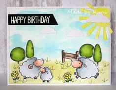 Kunis Bastelblog: Happy Birthday