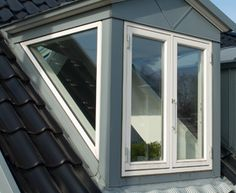 glass sided dormer - Google Search