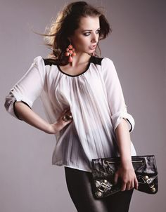 Lydia white blouse £24.00 www.olliemay.com